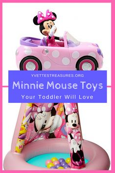 594897893f1b Minnie Mouse toys for girls. Fabulous Minnie Mouse gifts for girls. Lots to  choose