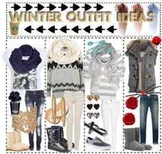 """""""Winter Outfit Ideas"""" by the-beauty-nerds ❤ liked on Polyvore"""