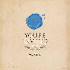 Invitación a ver cenicienta