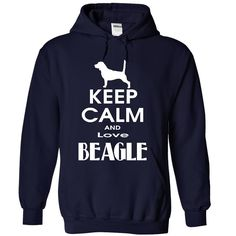 Keep calm and love Beagle - Keep calm and love Beagle #Beagle #Beagleshirts #iloveBeagle # tshirts
