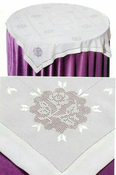 Neşe'nin gözdeleri Lace Embroidery, Embroidery Patterns, Crochet Table Runner Pattern, Bargello, Diy And Crafts, Rugs, Elsa, Salons, Home Decor