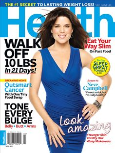 Get fresh ideas and inspiration on how to make the healthy life truly irresistible. Health covers its readers' many interests, including cutting-edge health advice, natural beauty moves, home remedies that work, celebrity weight-loss secrets, healthy travel, organic and low-fat food, new time-saving workouts, body-flattering fashion and much more.