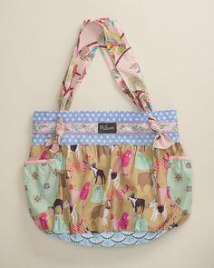 Ellie Hob Bag - Platinum by Matilda Jane Clothing