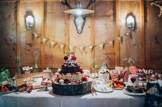 Sweet table  Almhoch