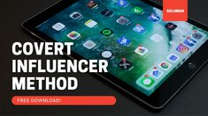 Covert Influencer Method Ebook Free Download How Seo Works, It Works, Marketing Software, Affiliate Marketing, Marketing Training, Marketing Digital, Whatsapp Messenger, Data Recovery, Tutorials