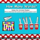 How Many Words? Learning Center Games