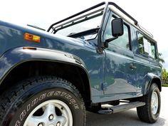 1997 Land Rover Defender 90/ Arles Blue