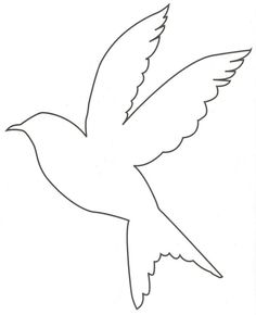 bird outlines - Google Search | Craftiest | Pinterest ...