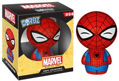 ace toy ko dorbz classic marvel: spider-man vinyl [figure] by funko - item is new and unopened in original packaging.id: on the character from marvel comicsmanufactured by funko Figurines D'action, Amazing Spiderman, Action Toys, Action Figures, Funko Pop Spiderman, Spiderman Marvel, Marvel Comics, Game Of Thrones, Fans