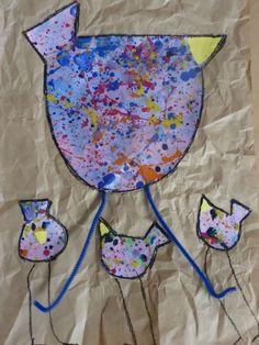 Voici quelques photos autour de l'artise Eva C. Crawfort et du thème de Pâques Lise