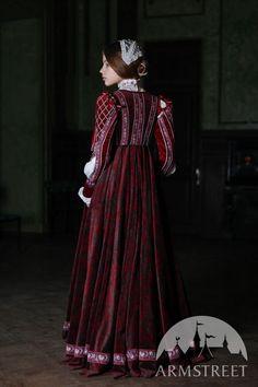 """Renaissance Costume Dress """"Beautiful Ginevra"""""""