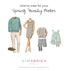 Summer Family Picture Outfits Discover what to wear for your spring family photo session Summer Family Portraits, Spring Family Pictures, Family Portrait Outfits, Family Photos What To Wear, Family Picture Outfits, Spring Photos, Family Photo Sessions, Family Pics, Family Photo Colors