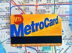 MetroCard de Nueva York - Mapa de metro