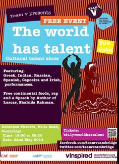 The worlds got talent Team V, Talent Show, World, Capoeira, The World, Earth