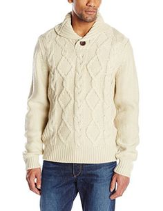 Weatherproof Vintage Men's Shawl Collar Sweater           $ 95.00 Pullover Sweaters Product Features Snap button collar Chunky sweater Pullover Sweaters Product Description Cable knit shawl collar pullover sweater Find More Pullover Sweaters Products  http://www.freesweaters.com/weatherproof-vintage-mens-shawl-collar-sweater-2/