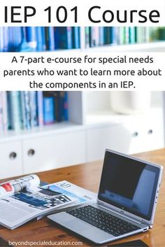 As a special needs parent, do you need more information about IEPs? This course is for you and its FREE! It will give you an overview of what you will find in your child's IEP.