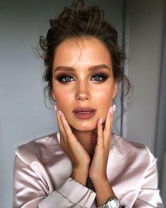 Masha😍 Our amazing beauty and my make-up for her 🔥 Today . - Make-up - Eye Makeup Cute Makeup, Gorgeous Makeup, Simple Makeup, Makeup Looks, Easy Makeup, Awesome Makeup, Perfect Makeup, Beauty Make-up, Beauty Hacks