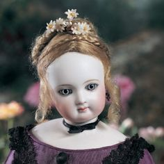 For the Love of Dolls, The Mildred Seeley Collection: 141 French Bisque Poupee attributed to Jumeau