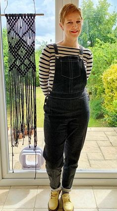 Hayley's Mila dungarees - Sewing pattern by Tilly and the Buttons