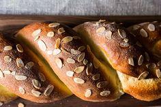 Cherry-Almond Danish Recipe on Almond Danish Recipe, Twisted Recipes, Danish Food, Danish Pastries, Breakfast Pastries, Breakfast Carbs, Danishes, Puff Pastry Recipes, Food 52