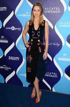 Emily Blunt in Peter Pilotto
