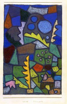 Paul Klee - Flower Garden, 1932.