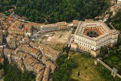 Veduta dall'alto dello straordinario capolavoro del Vignola!!! Dottrina dell'Architettura Architetto David Napolitano