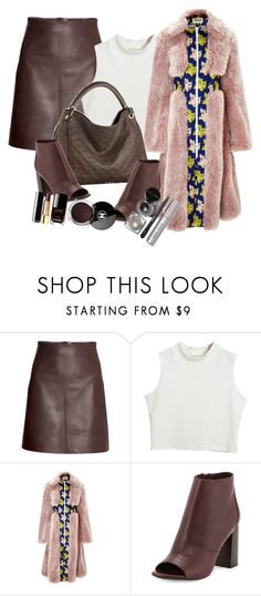 """""""Untitled #1594"""" by monique-d ❤ liked on Polyvore featuring H&M, Chicnova Fashion, A.W.A.K.E., Louis Vuitton, Vince, Chanel and Bobbi Brown Cosmetics"""