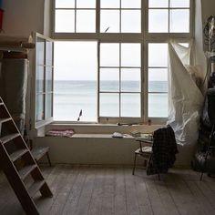 Window and sea