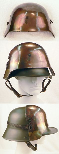 German Sniper Plate helmet, WWII gifts and memorabilia