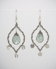 Phoenix Earring in Silver by augustninedesigns on Etsy