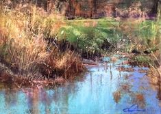 Still Waters by Tom Christopher Pastel ~ 16 x 20