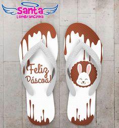 Chinelo Páscoa Chocolate COD 3725