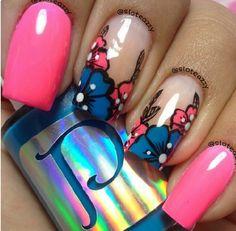 Hawaiian manicure