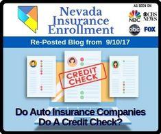 Do Auto Insurance Companies Do A Credit Check Auto Insurance