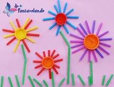 50 spring crafts for kids preschoolers toddlers to make this season of new beginnings – Artofit Spring Crafts For Kids, Easy Crafts For Kids, Summer Crafts, Toddler Crafts, Fun Crafts, Art For Kids, Preschool Crafts, Easter Crafts, Preschool Classroom