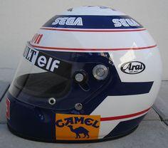Alain Prost's helmet