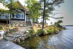 Cottage of the Week: $3.3 million for a private island on Lake Muskoka - Gallery | torontolife.com