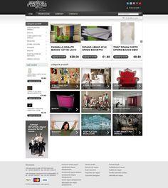 Shop Centro Negozi #ecommerce.  Sito realizzato da Estensa #webagency