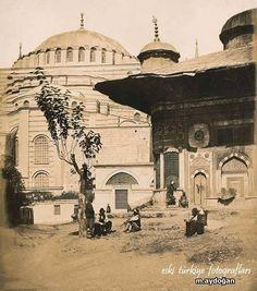 Sultanahmet, 3.Ahmet Çeşmesi ve Aayasofya-1854