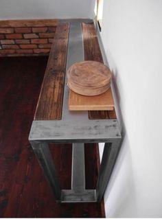 Rustic Handmade Reclaimed Wood & Steel Industrial by DesignInFocus