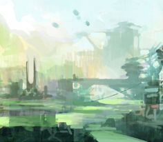 Read how Theo Prins created his image 'Sitting' in our latest Digital Art Masters: Volume 7 promotion. Environment Concept Art, Sci Fi Art, Great Artists, Landscapes, Digital Art, Graphics, Watercolor, Fantasy, Learning