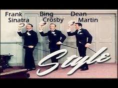 Frank Sinatra Dean Martin & Bing Crosby - Style 1964  *I could listen to them sing all day.  Especially Bing and Frank. ♥