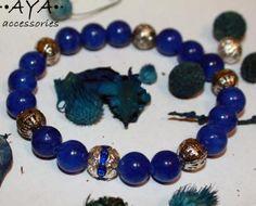 """Jade bracelet """"Ice blue"""" by AYASHOP for $12.00"""