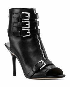 MICHAEL Michael Kors  Roswell Peep-Toe Ankle Boot. Naughty or Nice....Naughty : )