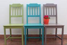 Restauro trasformazione sedia vintage finitura cerata