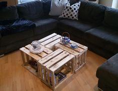 Couchtische   Weinkisten Tisch, Couchtisch, Tisch, Holztisch   Ein  Designerstück Von Kistenherbert Bei