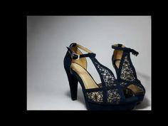 Sandalias azules Bukanto - YouTube
