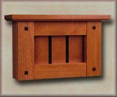 The Sumner mission style and craftsman style doorbell mounts horizontally and features ebony pegs and a slatted face in the style of Stickleyu0027s best known. & Roycroft Doorbell Cover Craftsman   Craftsman Style   Pinterest ...