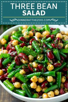 25 Best Green Bean Dishes To Serve At Meals. 25 Best Green Bean Dishes To Serve At Meals. Baked in the oven with cheeses or stir-fried with simple spices, green bean is healthy and tasty enough to serve as a side dish or a complete meal. Green Bean Dishes, Green Bean Salads, Green Beans, 3 Bean Salad, Vegetable Recipes, Vegetarian Recipes, Cooking Recipes, Healthy Recipes, Veggie Salads Recipes